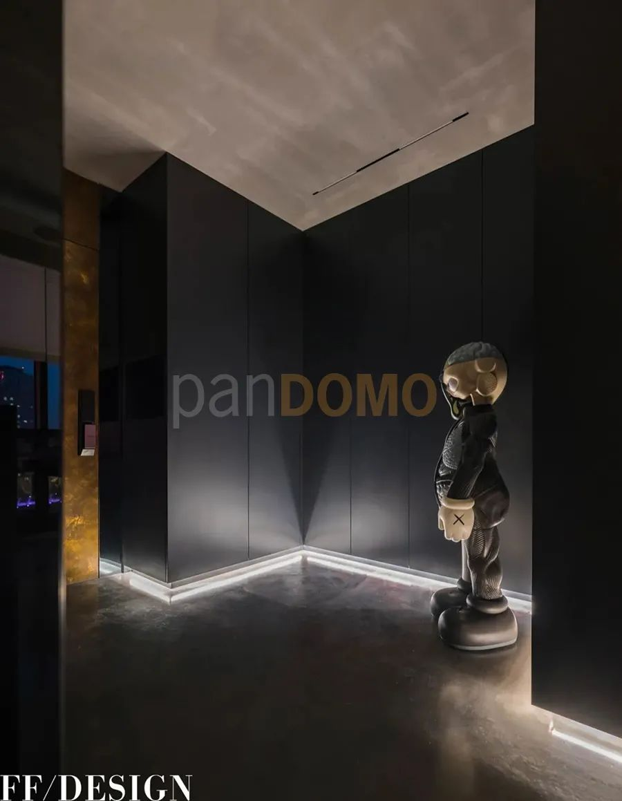 panDOMO塑造纯黑极简治愈风