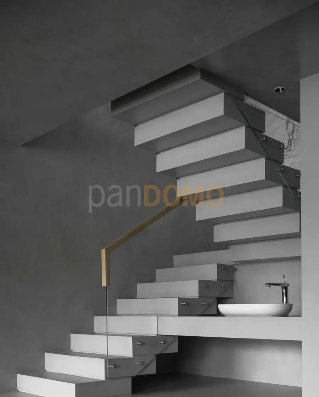 "ANG STUDIO | panDOMO以现代水泥质感打造 ""素心""空间"