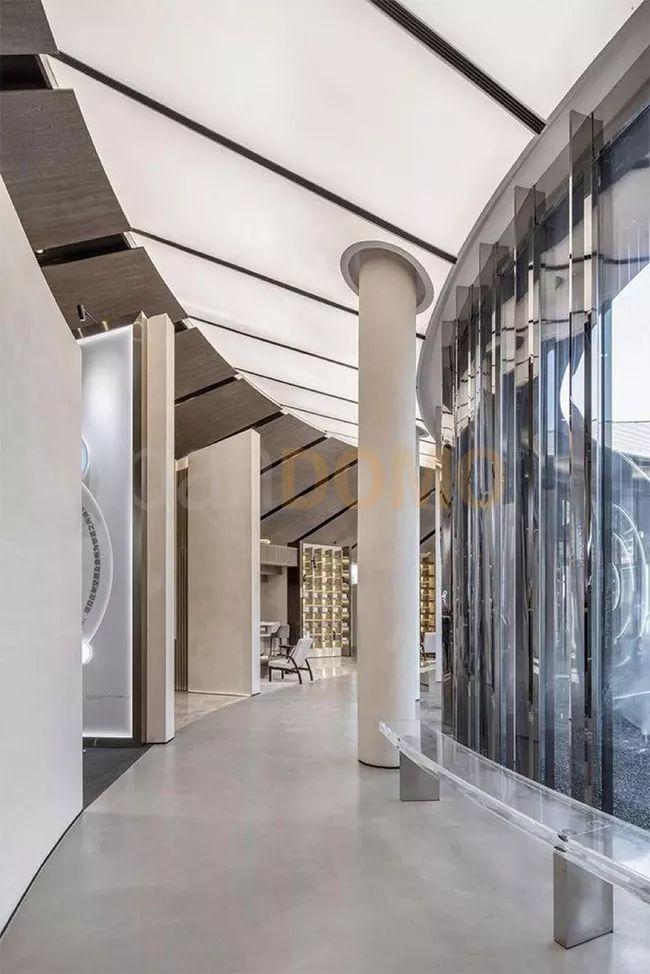 中南西安大明宫项目售楼处 以panDOMO在光影间穿梭古今
